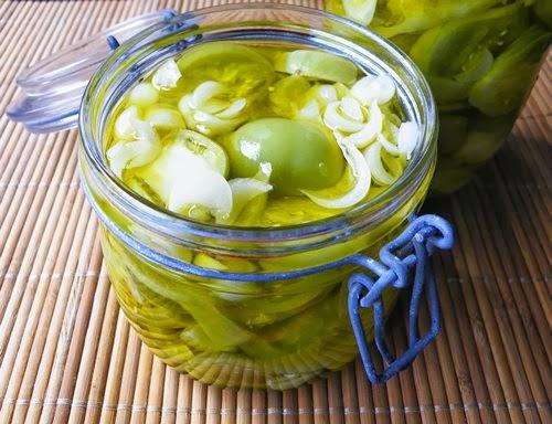 ricetta pomodori verdi