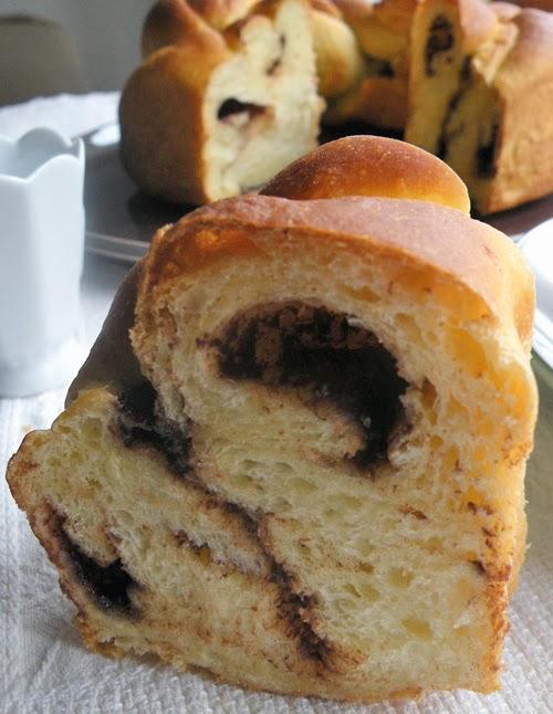 pan brioche con olio