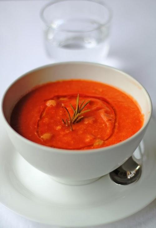 Zuppa ultrarapida di ceci
