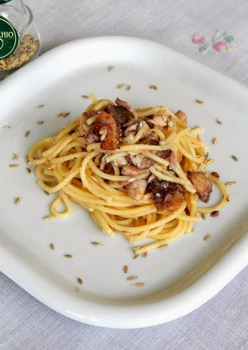"""""""Bigoli e sardele"""", pasta con le sarde del Garda: un piatto unico veloce e semplicissimo"""