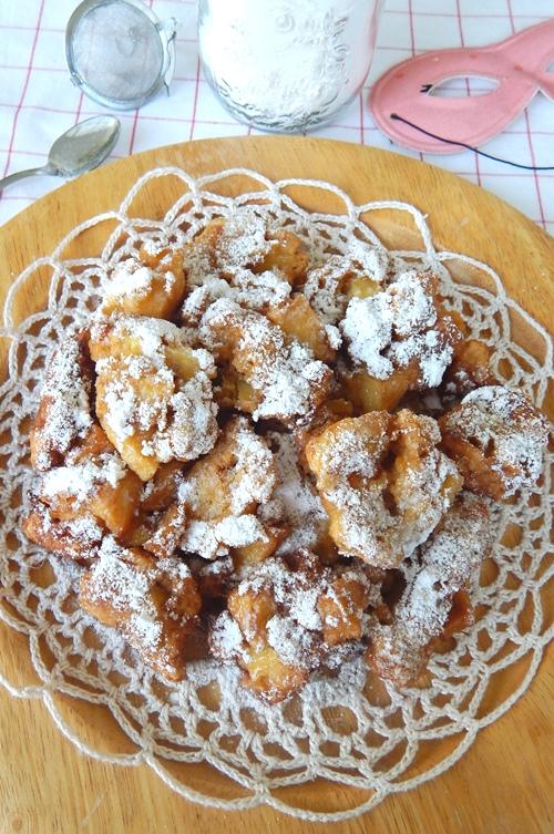 Frittelle di carnevale (fritole)