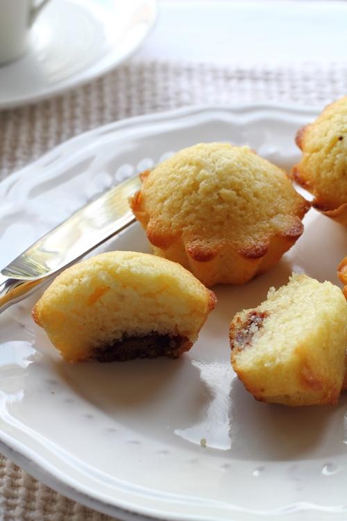 Muffin Kamut e patate con cuore di cioccolato