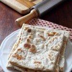 Rgaïf, pane marocchino. Moroccan Flatbread for Bread Baking Buddies