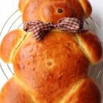 Orsetto di pane dolce