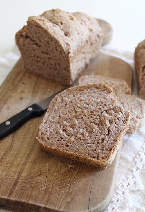 Pane ai 5 cereali e noci – Grain Bread with Walnuts