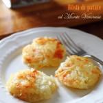 Rösti di patate al formaggio…ricetta di riciclo a modo mio