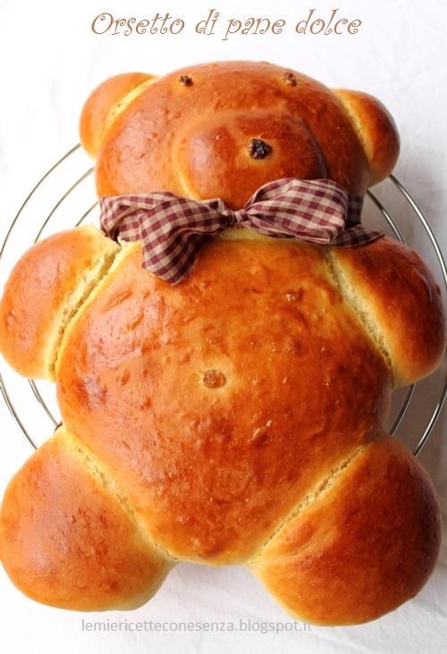 Orsetto pane brioche