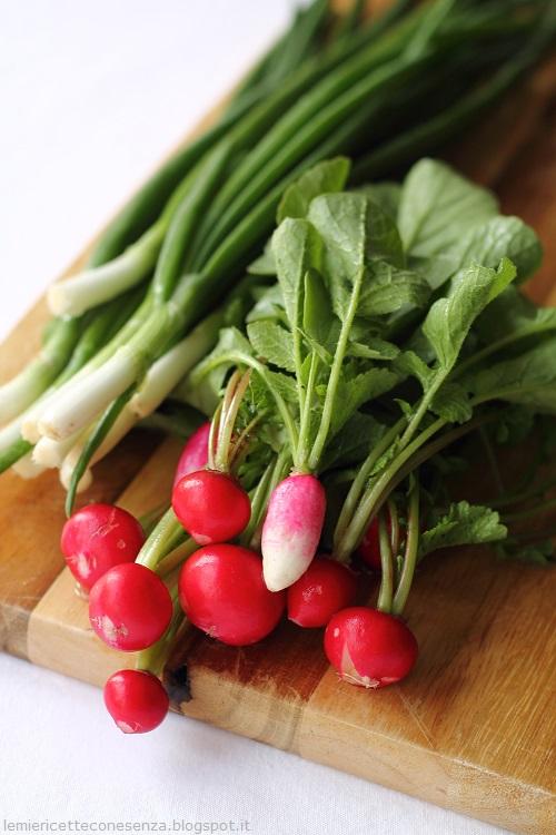 ricetta ravanelli, finocchi e cipollini