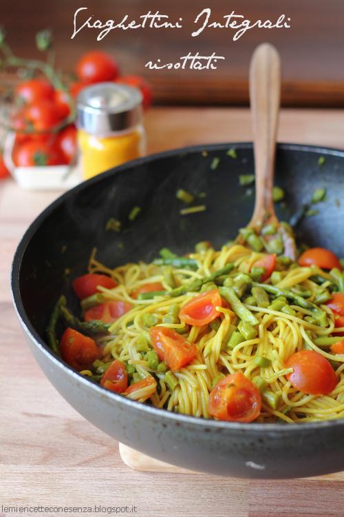 Spaghettini risottati