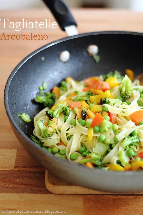 tagliatelle broccoli