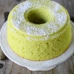 Fluffosissima marziana, ovvero chiffon cake lime e zucchine
