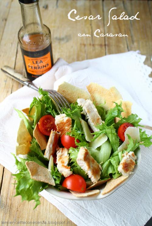 Cesar Salad con pane carasau