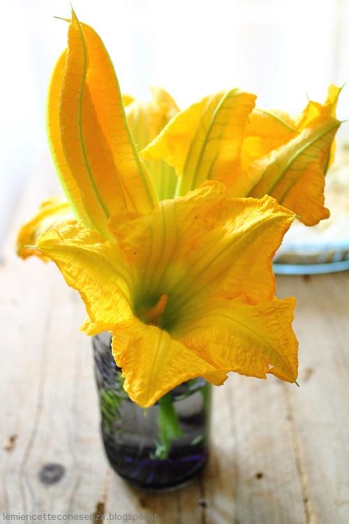 fiori zucchina maschili