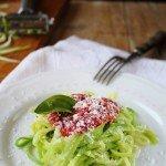 Pasta senza carboidrati e senza glutine? Paglia e fieno di zucchine
