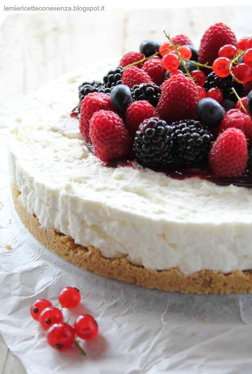 Cheesecake ricotta