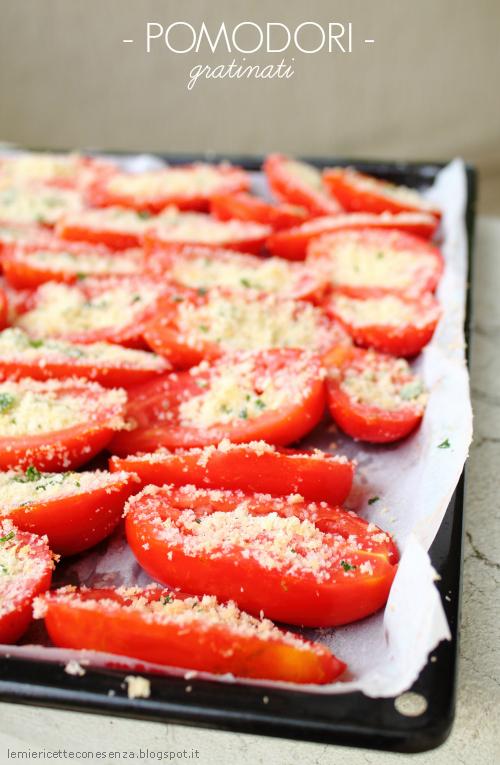 Pomodori perini gratinati al forno