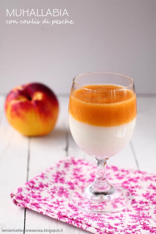 Muhallabia: budino gluten free di latte con coulis di frutta fresca