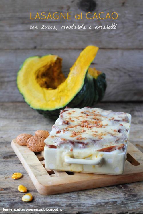 ricetta lasagne al forno di zucca