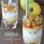 Trifle con mele speziate e nocciole del Piemonte