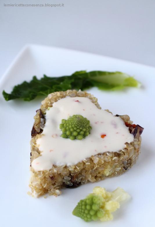 tortino di quinoa