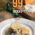 """E' nato  l'eBook """"99 Ricette per EXPO"""" con il mio risotto col tastasal in copertina"""