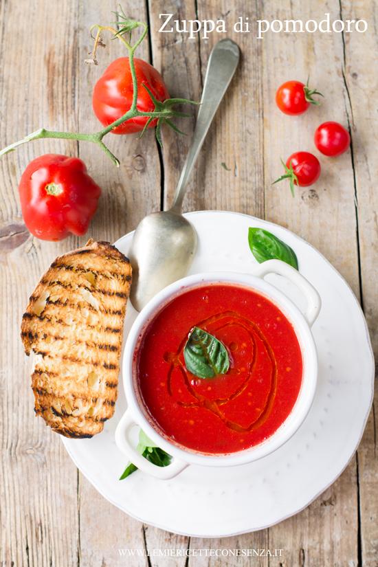 Zuppa di pomodori semplice e veloce