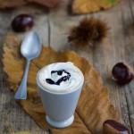 "Chestnut Praline Latte homemade o meglio Chestnut ""no Praline"" Latte homemade"