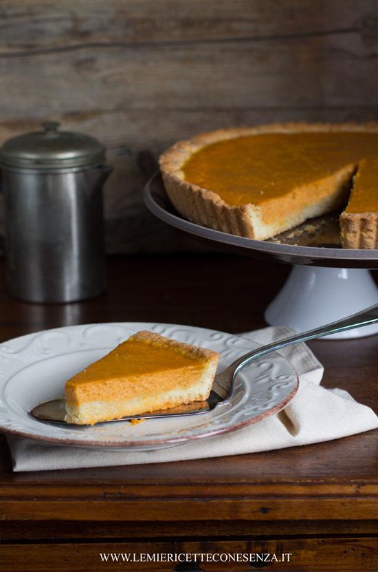 Pumpkin Pie con pastafrolla all'olio extravergine
