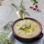 Pasta e fagioli cannellini alle erbe aromatiche versione con fagioli freschi e con fagioli secchi