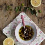 Olive fresche al forno e la raccolta delle olive del Garda