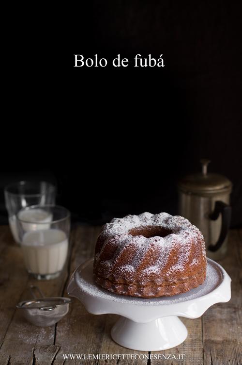 Bolo de fubá, un dolce senza burro con farina di mais