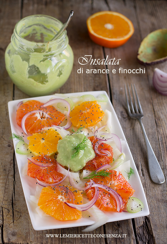 insalata di arance