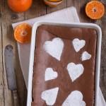 Torta morbida al cioccolato senza lievito