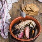 Brodetto di pesce in bianco con finocchi