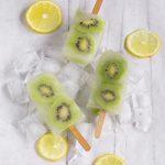 Ghiaccioli alla frutta homemade con sciroppo al limone