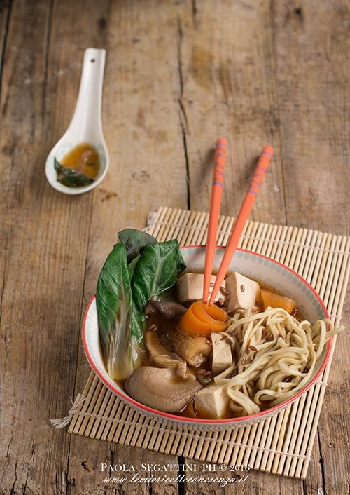 zuppa di miso con tofu