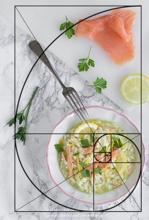 sezione aurea foto cibo