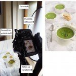 Backstage di food photography