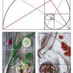 Regola dei terzi e sezione aurea in food photography