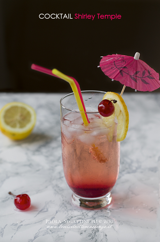Cocktail Shirley Temple