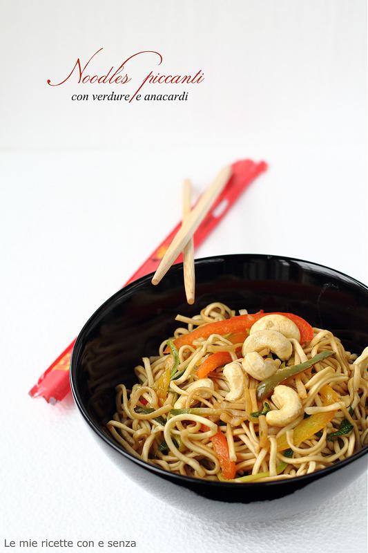 Noodles piccanti