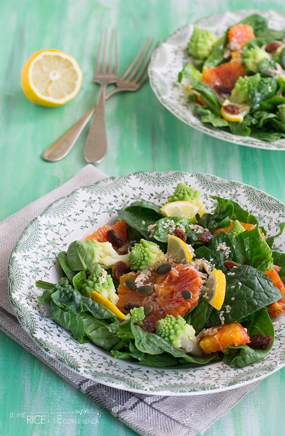 insalata spinaci crudi