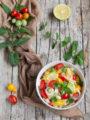Il Tabulè di verdure, insalata di bulgur fresca e sana