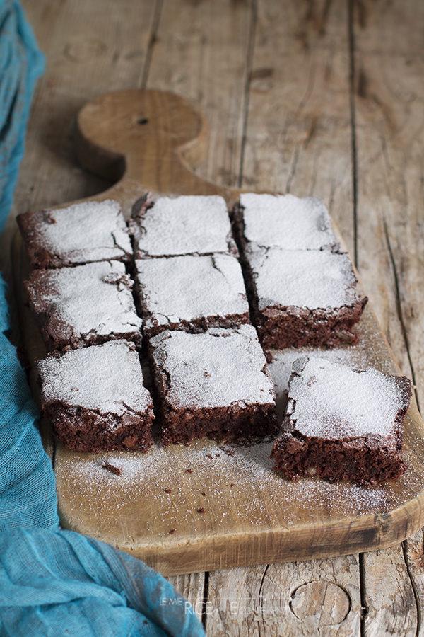 Brownies al cocco e cacao amaro