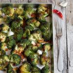Broccoli arrosto speziati al forno