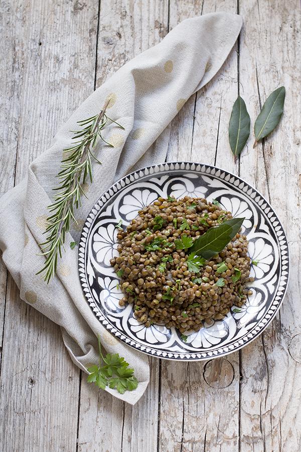 La ricetta delle lenticchie in umido