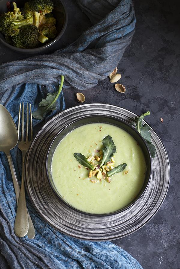 Crema di broccoli al latte di cocco