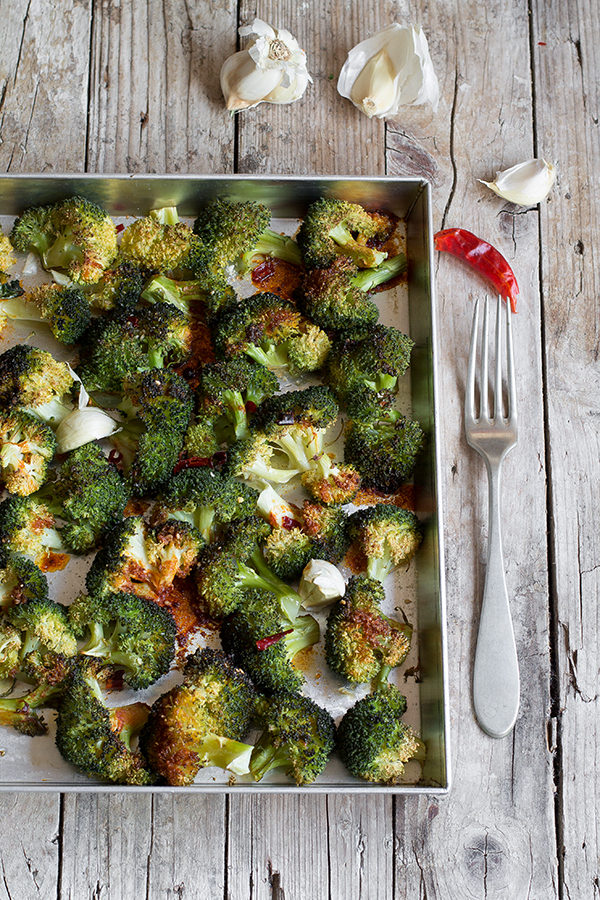 Broccoli arrosto al forno