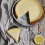 Torta impossibile al cocco e limone