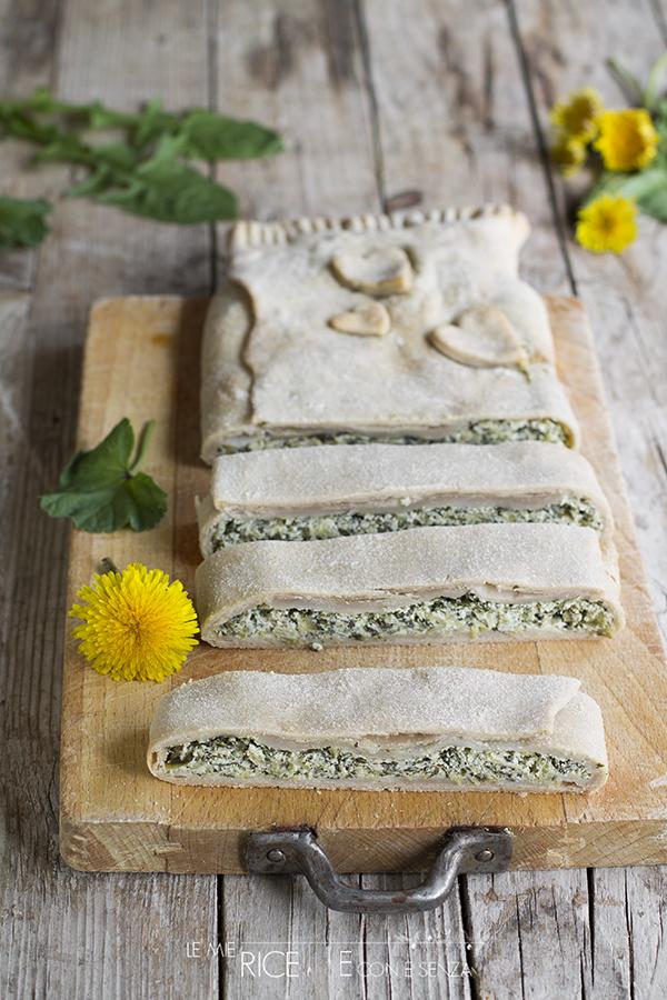 strudel salato con pasta matta